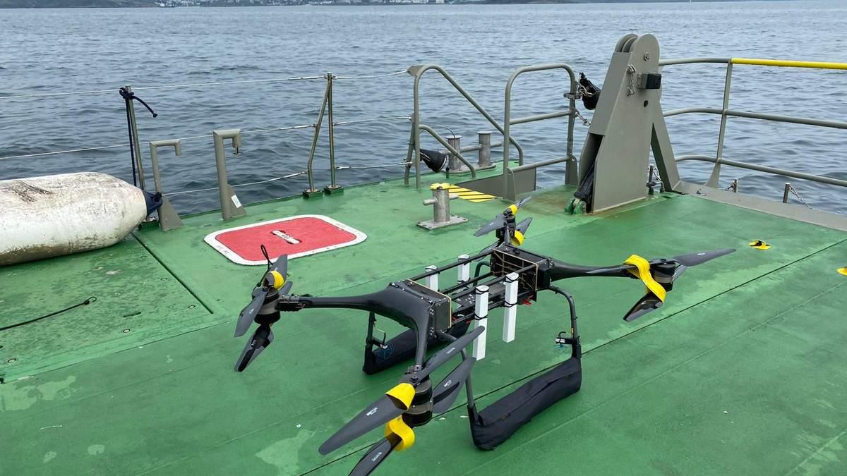Королівський військовий флот Великої Британії: тестування дронів