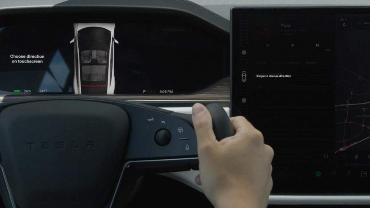 """""""Tesla выпустит новый пользовательский интерфейс и обновят """"ум автомобилей"""""""