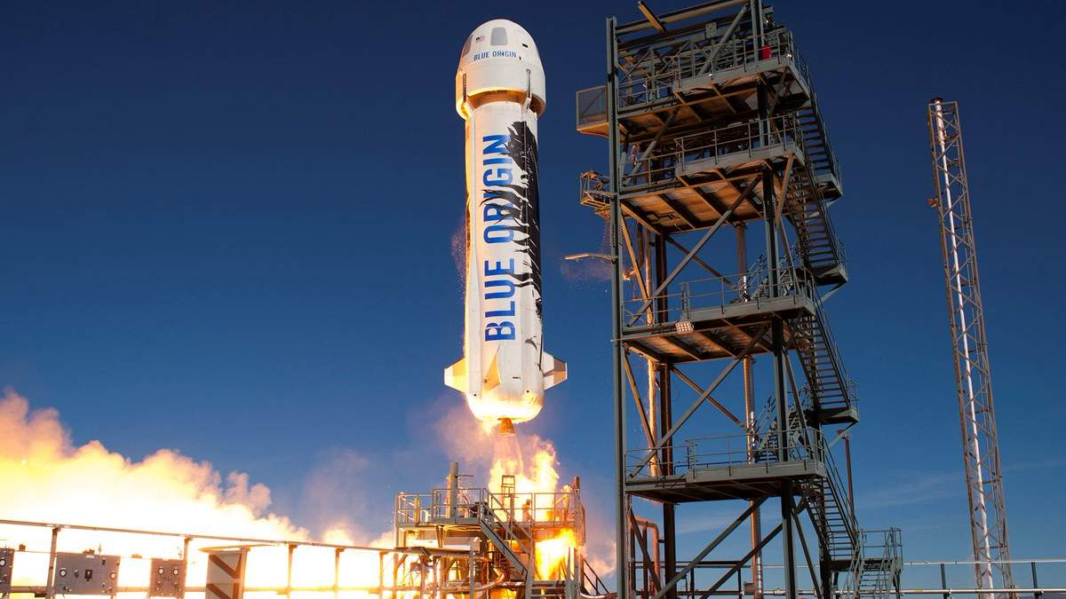 Blue Origin відправляє Джеффа Безоса у космос: все про важливий політ