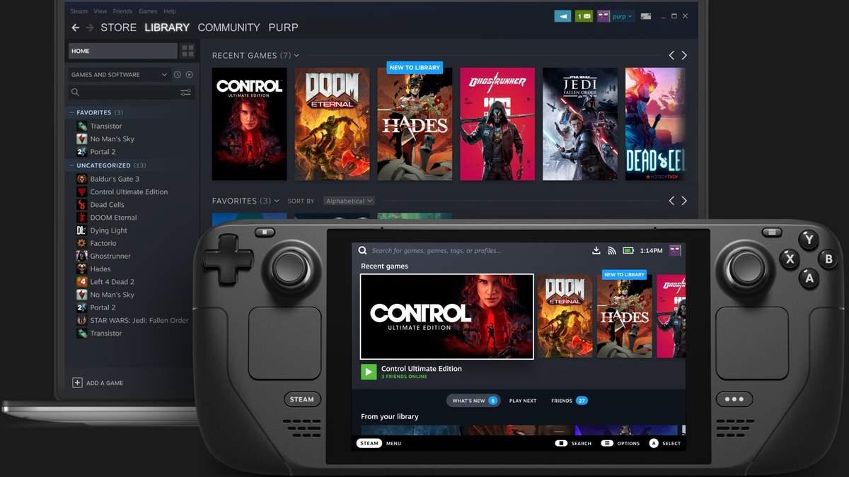 Представлена консоль Steam Deck от Valve – конкурент Nintendo Switch