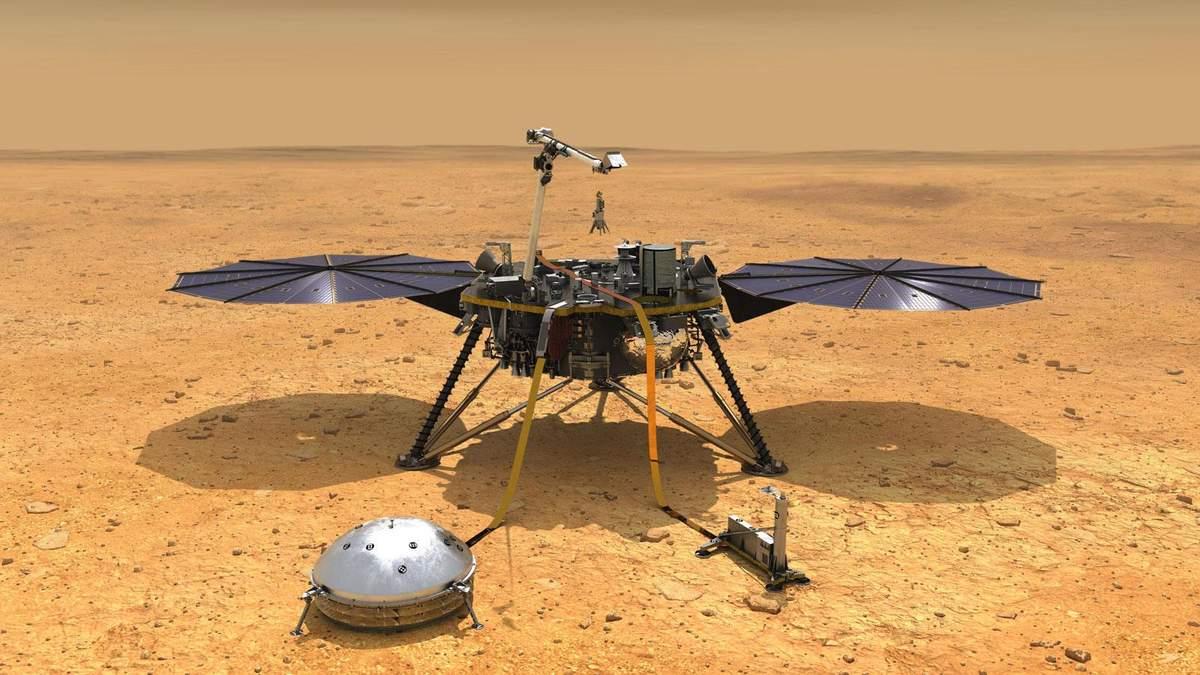 Зонд InSight помог детально изучить внутреннюю структуру Марса
