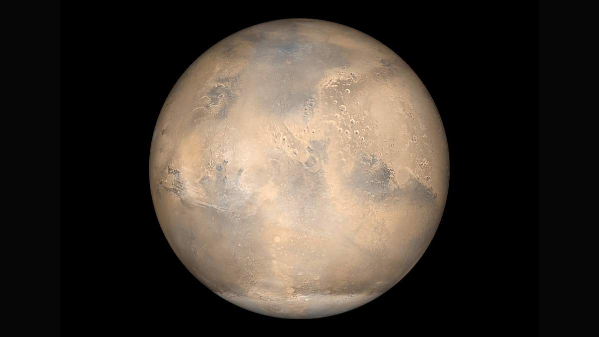 Глобальная пылевая буря остановила зиму в южном полушарии Марса