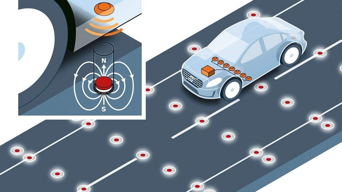 Дорога из магнитного цемента сможет заряжать электромобили на ходу