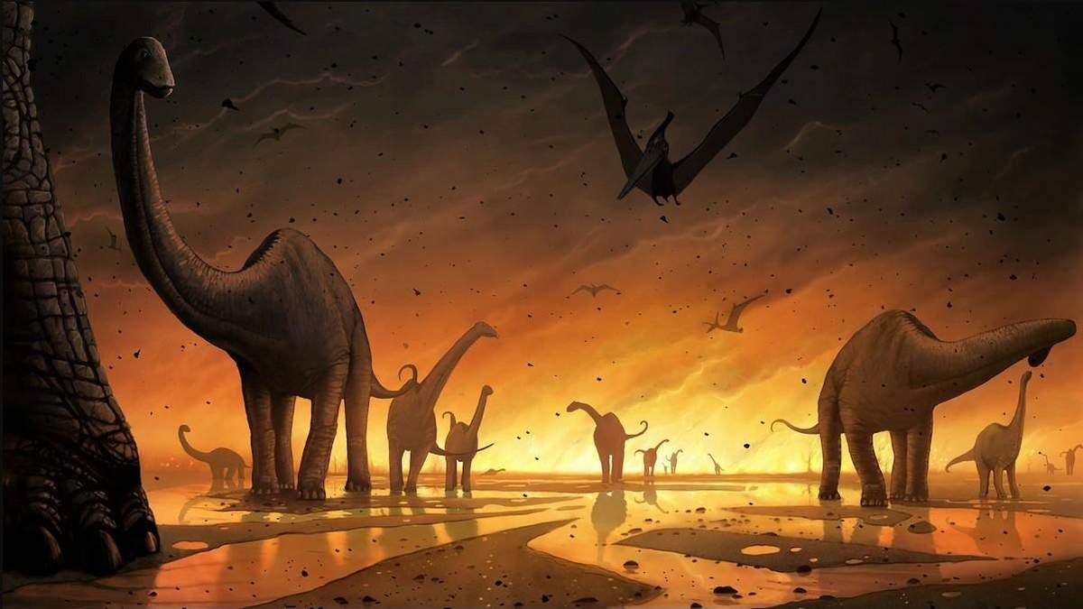 Динозаври: звідки прилетів астероїд, який знищив динозаврів