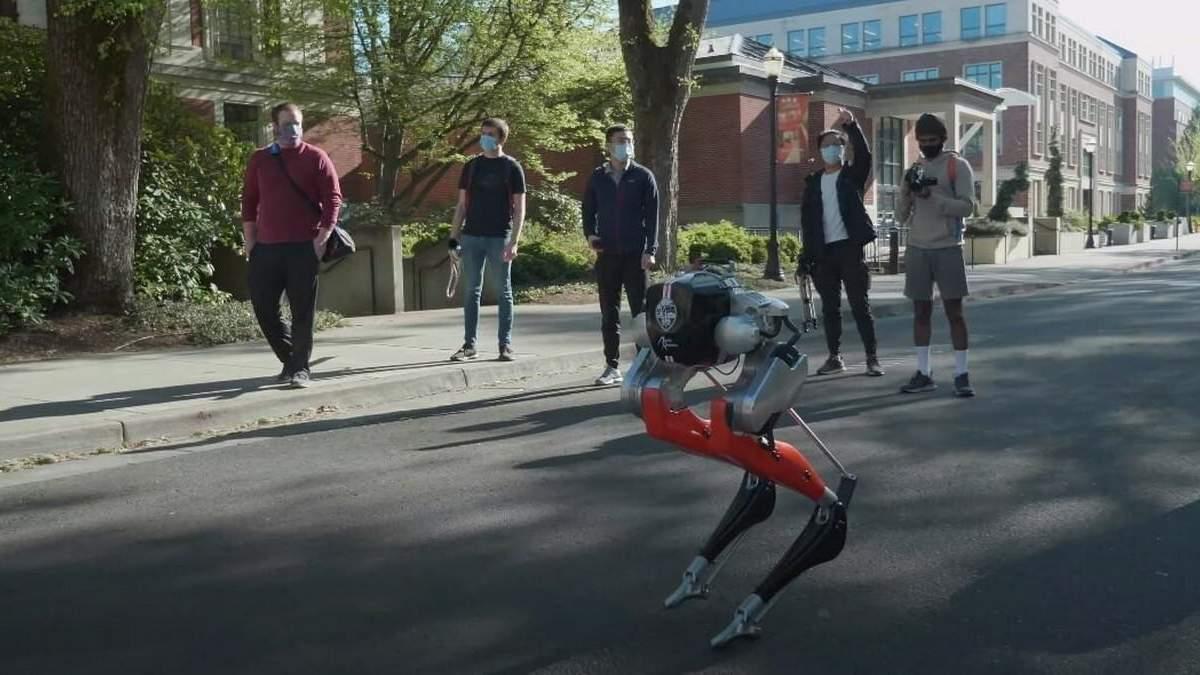 Двуногий робот пробежал пять километров на одном заряде за 53 минуты