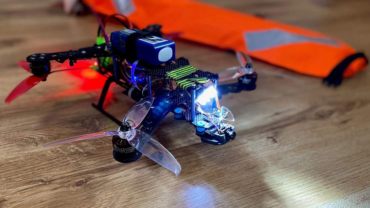 Беспилотник для спасения людей: дрон для спасения людей