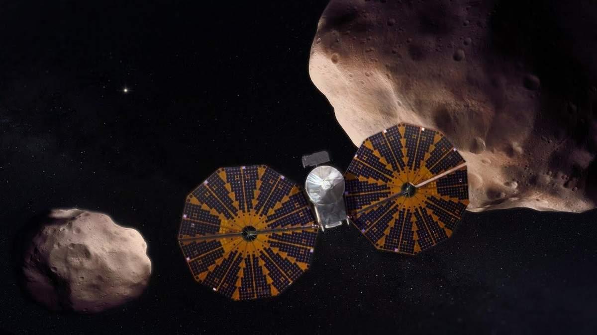 Миссия к астероидам Юпитера: троянские астероиды Юпитера