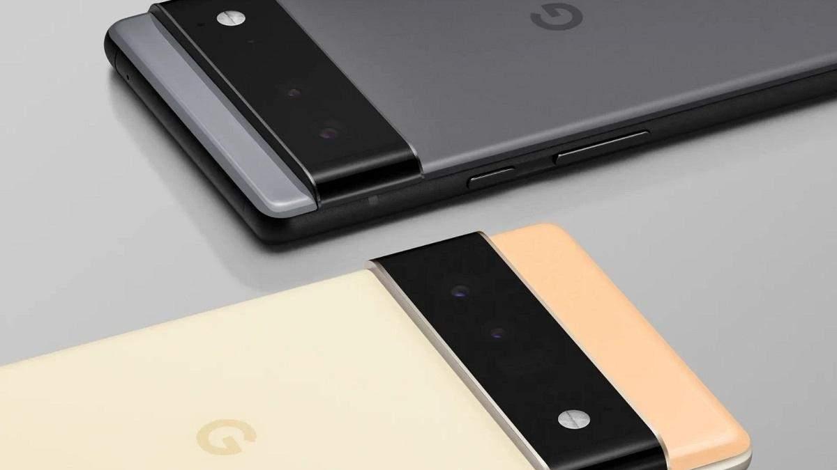 Google дозволила підглянути на смартфони Pixel 6 та 6 Pro