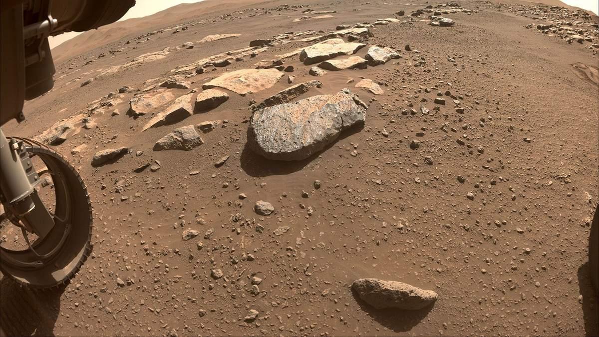 Марсоход NASA во второй раз попытается добыть образец марсианского грунта