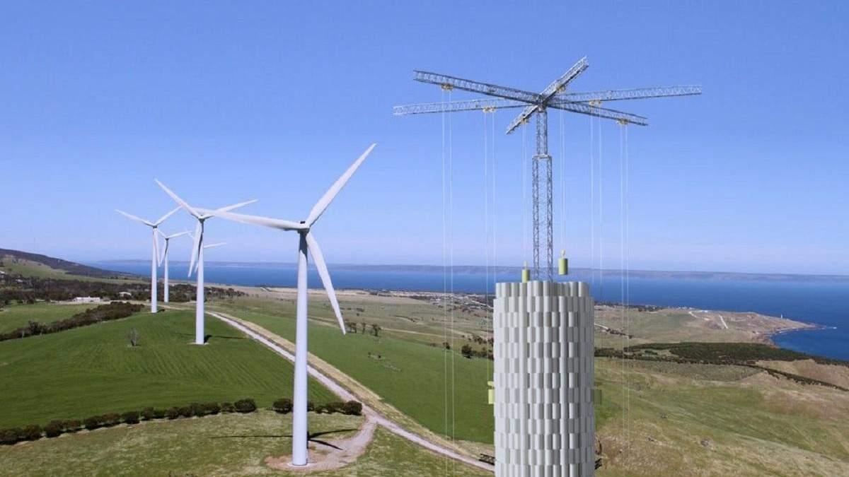 Енергосховище, що працює на силі гравітації, побудують у США до кінця 2021 року – як воно працює - Новини технологій - Техно