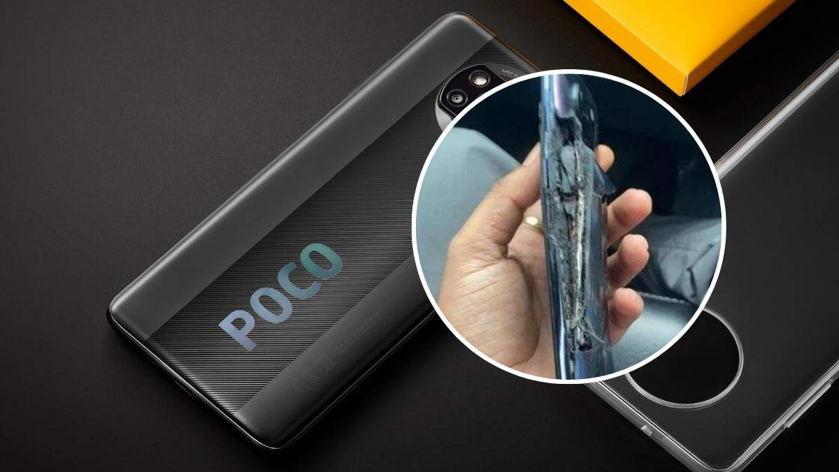 Почти новый смартфон Poco X3 Pro взорвался во время зарядки