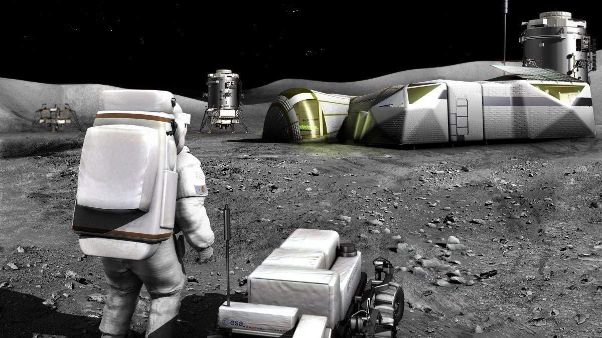 NASA використає рій роботів для будівництва бази на Місяці - Новини технологій - Техно