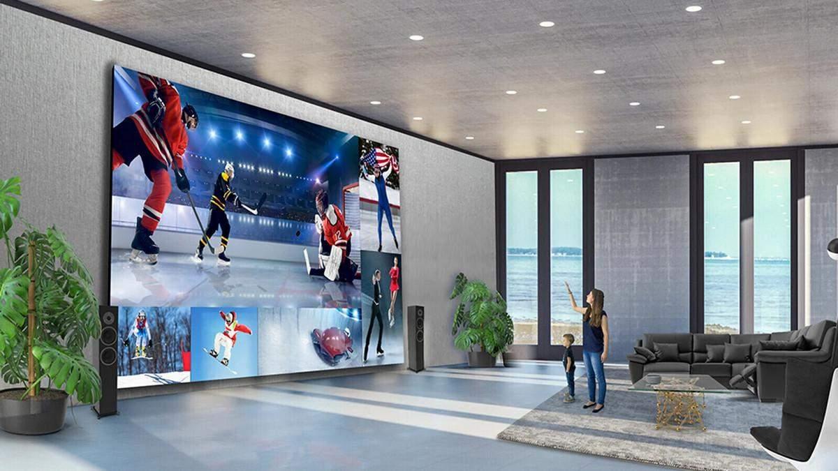 LG показала гигантский телевизор весом почти в тонну: цена шокирует