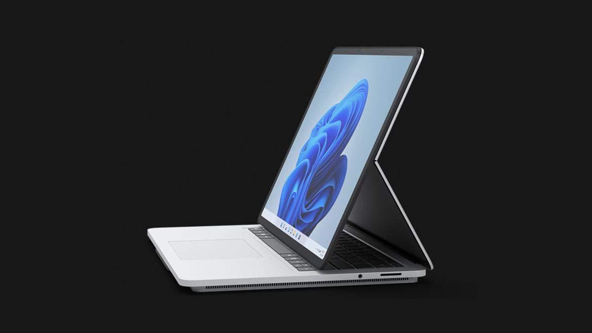 Microsoft анонсировала флагманский ноутбук Surface Laptop Studio с Windows 11