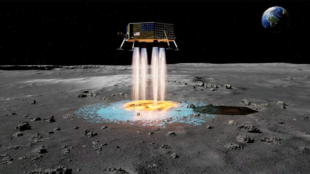 Як створити на Місяці посадковий майданчик, не саджаючи на супутник корабель - Новини технологій - Техно