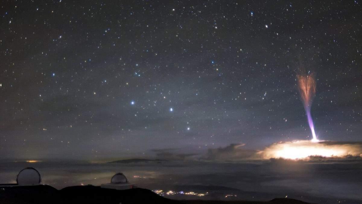 Біля Віргінських островів зафіксували велетенський джет: відео рідкісного явища - Новини технологій - Техно