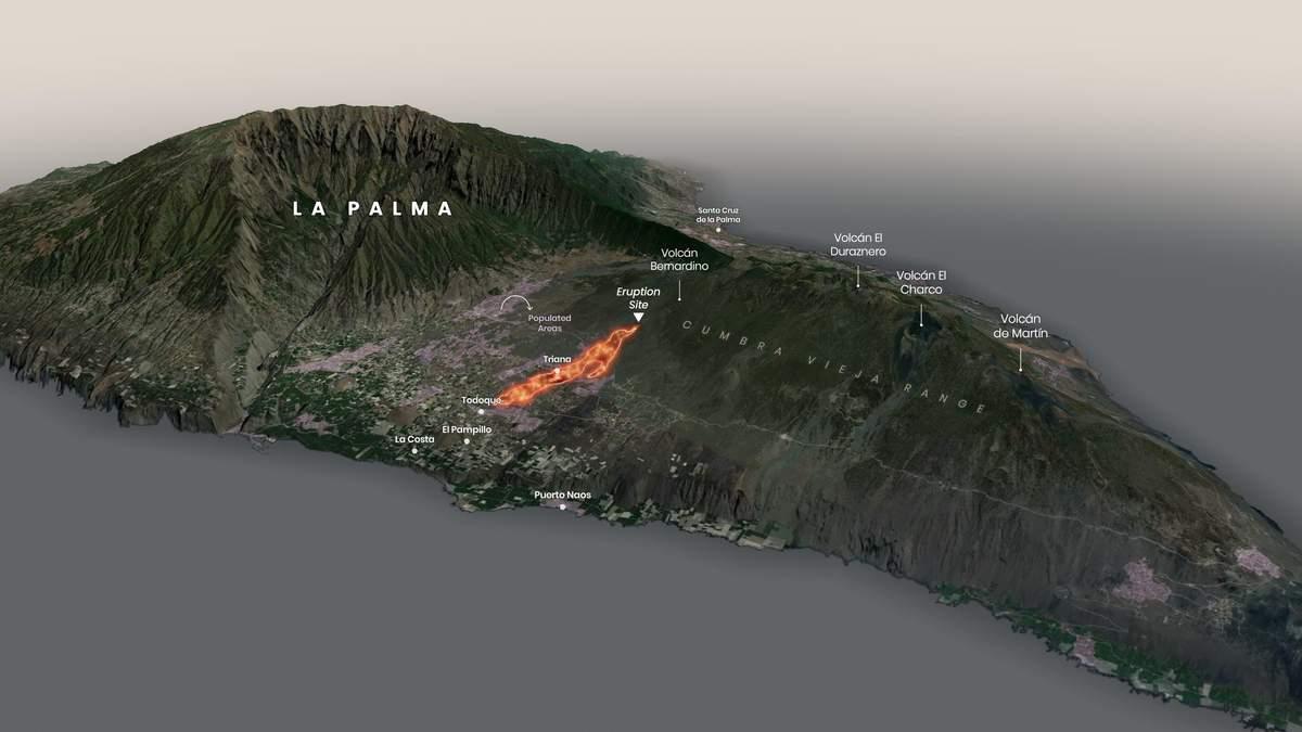 Через виверження вулкану на Канарах була знищена обсерваторія - Новини технологій - Техно