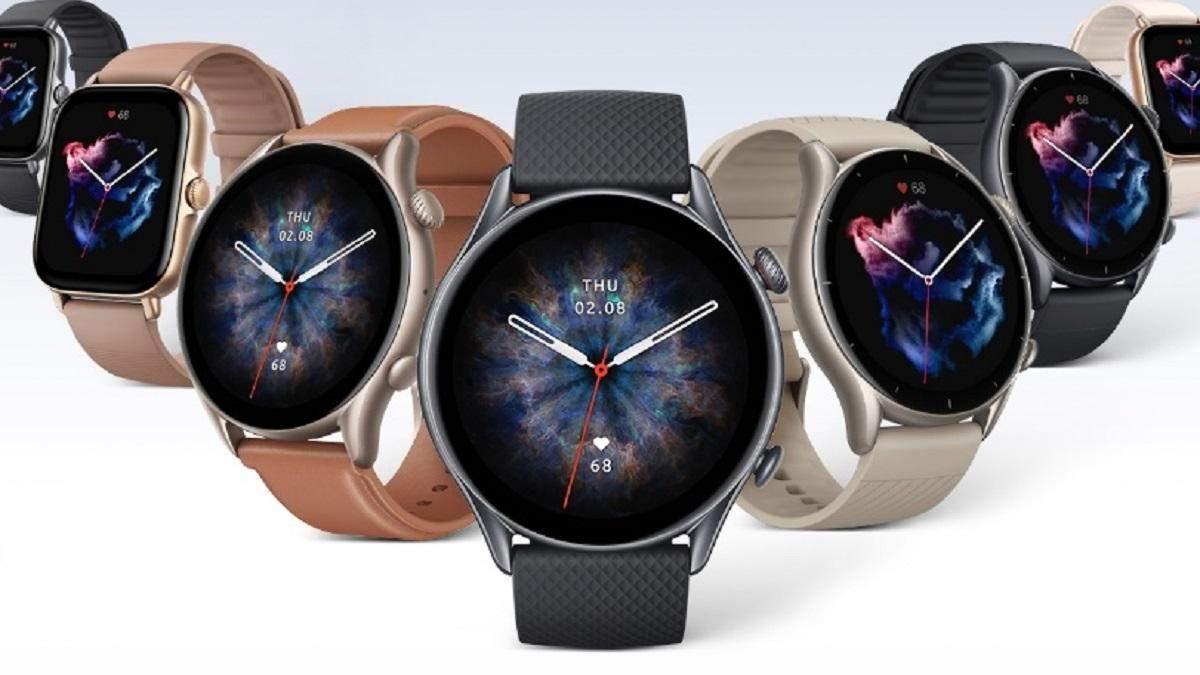 Amazfit оновила лінійку смарт-годинників: нові GTR 3 Pro, GTR 3 і GTS 3 на власній ОС - Новини технологій - Техно