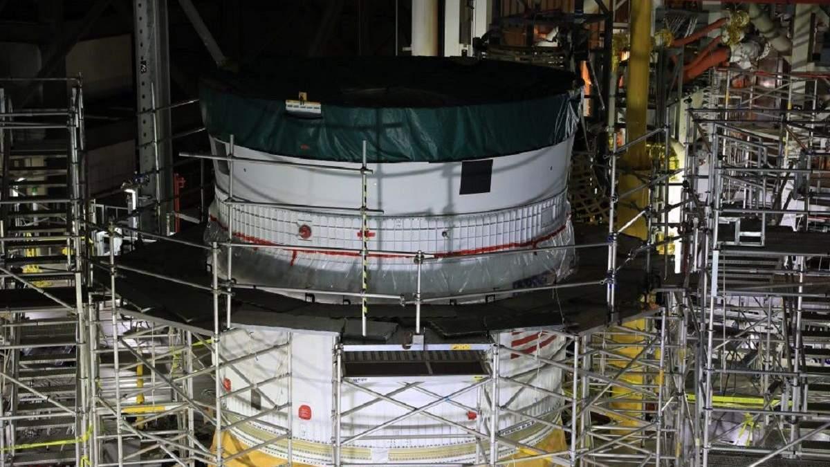 Ракета Space Launch System готова: NASA планирует первую лунную миссию в 2022 году