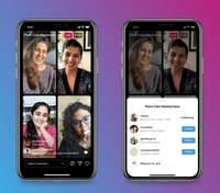 Instagram представляє Live Rooms – прямі трансляції з чотирма учасниками і монетизацією