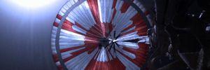 Користувачі інтернету розшифрували закодоване в парашуті Perseverance послання