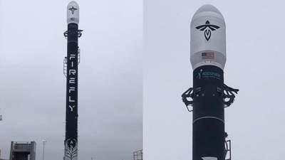 Ракету Firefly Alpha установили на стартовом стенде: ракета готова к полету