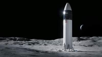 SpaceX висадить людей на Місяць: компанія виграла контракт NASA зі створення космічного корабля