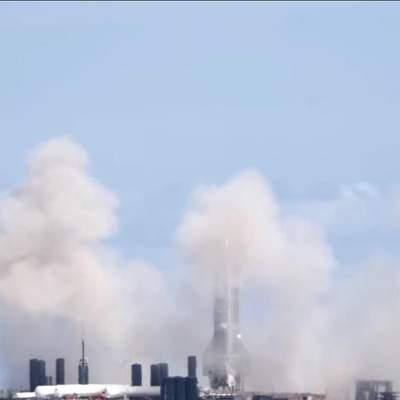 SpaceX перервала випробування Starship SN10 за секунду до старту: запис трансляції