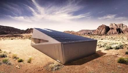 Кібербункер для Кібертрака: дизайнери намалювали ідеальний гараж для Tesla Cybertruck