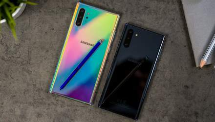 Samsung знижує ціну на флагманську лінійку смартфонів Galaxy Note10