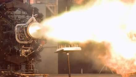 Космическое поздравление: в Firefly Aerospace зажгли свечи на торте ракетным двигателем – видео
