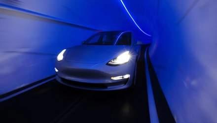 Компанія Ілона Маска показала схему майбутніх тунелів під Лас-Вегасом