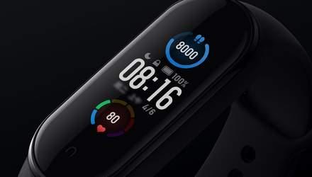 Апдейт Xiaomi Mi Band 5: фітнес-трекер отримав нові покращення
