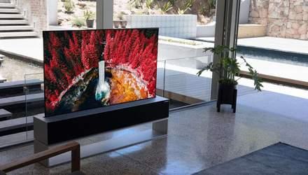 LG нарешті анонсувала телевізор, що можна скрутити в рулон: ціна шокує
