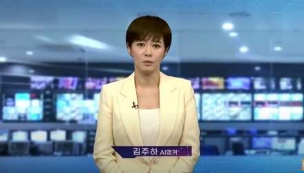 Штучний інтелект став ведучою новин у Кореї: важко відрізнити від людини – відео