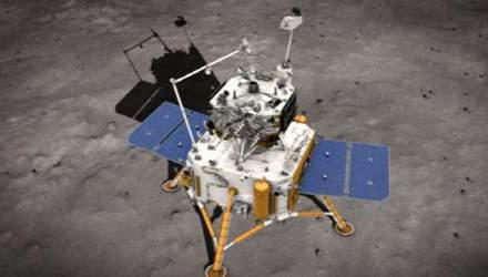 Китайський зонд Chang'e-5 взяв зразок місячного ґрунту: відео