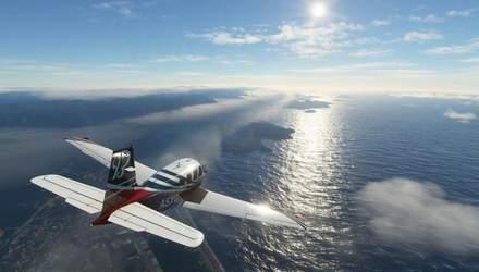 Реалістичність вражає: гравець одночасно пролетів на реальному і віртуальному літаках