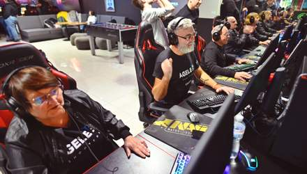Відбувся матч із CS:GO: змагались ветерани АТО та команда 55+ Ageless Shooters