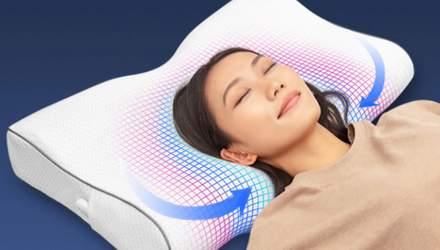 Тепер розумні навіть подушки: Huawei представила Smart Latex Pillow з моніторингом сну
