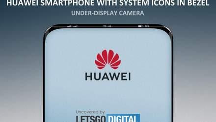 Huawei використає рамку навколо дисплея для виведення сповіщень