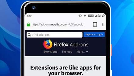 Mozilla спростить встановлення розширень в Firefox для Android
