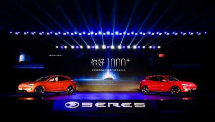 Seres представив перший у світі електрокар на платформі Huawei