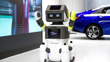 Hyundai представила робота-хостес: что известно о разработке