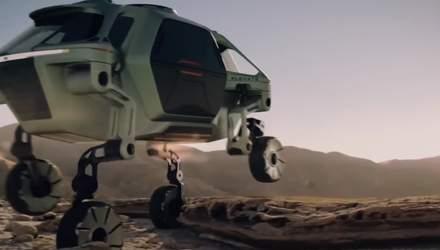 Hyundai показала концепт робота-курьера Tiger X-1, который умеет ездить и ходить