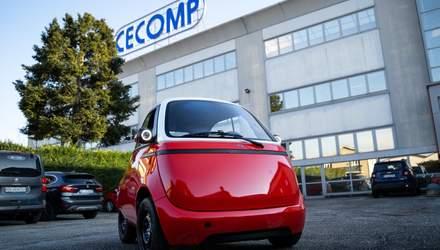В Швейцарии представили концепт сверхкомпактного электромобиля: фото, видео