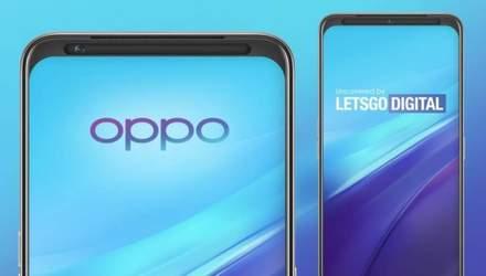 Oppo запатентувала камеру, що переміщується з одного боку в інший
