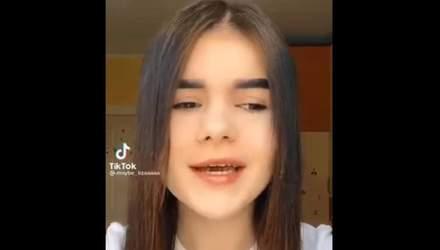 Да вср*лся мне ваш язык: украинская тиктокерша спровоцировала скандал – видео 18+