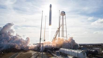 Ракета Украины и США вывела на орбиту корабль с грузом для астронавтов: фантастическое видео