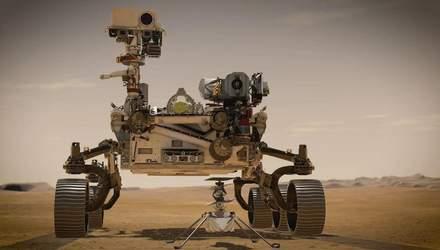 Марсохід Perseverance надіслав перші кольорові фото з Марса