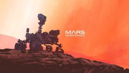 Perseverance надіслав перше відео з Марса